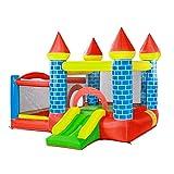Tobogán inflable Castillo Inflable para Niños Niños Pequeños Cama Elástica para Niños Parque De Diversiones Al Aire Libre Juguetes para Niños (Size : 295x270x210cm)
