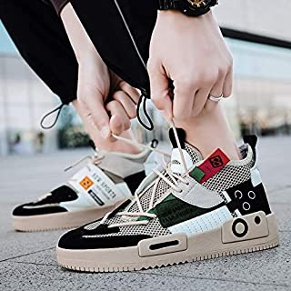 Summer New Fashion Wild Korean Tidal Drift Surface Breathable High-top Shoes Men's Outdoor Leisure Sports Shoes