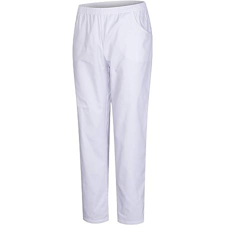 Isacco 044700 Pantalone con Elastico Bianco Taglia XXL