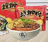 Luosifen Chinese instant noodle 柳全,黄氏,螺霸王,好欢螺,螺狮粉,小龙虾口味,超级辣,原味 (柳全大航海时代螺蛳粉(原味)335G, 6 PACK)
