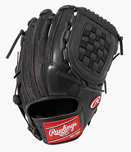 ローリングス(Rawlings) 野球用 大人 軟式 HOHR MAJOR LEAGUER'S MODEL メジャーリーグモデル [投手用] サイズ 12.5 GRXFMLJV ブラック ピッチャー用 ※右投げ用