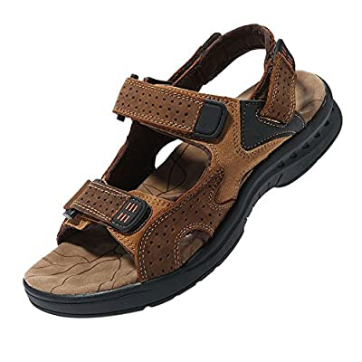 ff1f70387b6980 iLoveSIA Leather Walking and Hiking Sandals