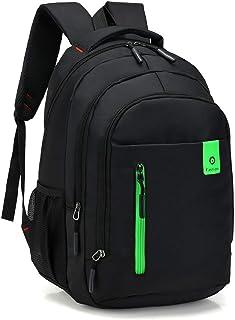 Backpack Bolso De Hombro Nuevo para Hombre, Bolsa De Computadora De Negocios De Tela Oxford, Mochila De Viaje 20-35L Verde
