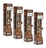 Le Comptoir de Mathilde 4 Singoli Coniglietti Pasqua con Carota per Cioccolata Calda in Tazza - 4 x 30 Grammi