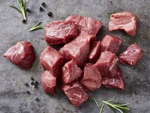 Kreutzers | Rindergulasch Mager Geringes Aussaften Beste Qualität Beef | 500g