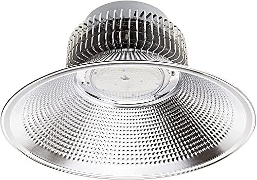 Jandei - Lampada Led Industriale Bianco freddo 6000K per officina, magazzino ... [Classe di efficienza energetica A+] (150W, 1 UNITÀ)