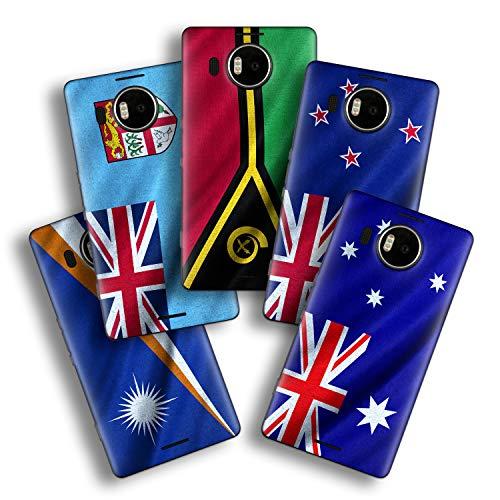 atFolix Designfolie kompatibel mit Microsoft Lumia 950 XL, wähle Dein Lieblings-Design aus, Skin Aufkleber (Flaggen aus Australien & Ozeanien)