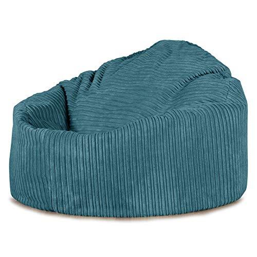 Lounge Pug®, \'Mini-Mammoth\' Sitzsack, Sessel, Cord Türkis