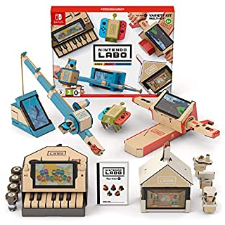 Nintendo Labo: Variety Kit (B0792T5S6H) | Amazon price tracker / tracking, Amazon price history charts, Amazon price watches, Amazon price drop alerts