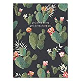 Cacti Colors Medium 7.5 x 10.25 Monthly Planner (July 2020 - June 2021)