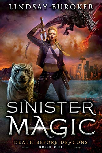 Compare Textbook Prices for Sinister Magic: An Urban Fantasy Dragon Series Death Before Dragons  ISBN 9781951367039 by Buroker, Lindsay