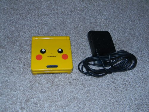 Nintendo Gameboy Advance SP: Limited Edition Pikachu Yellow