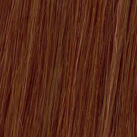 American Dream original de qualité 100% cheveux humains 50,8 cm soyeuse droite trame Couleur 6 NR – Cannelle Rouge