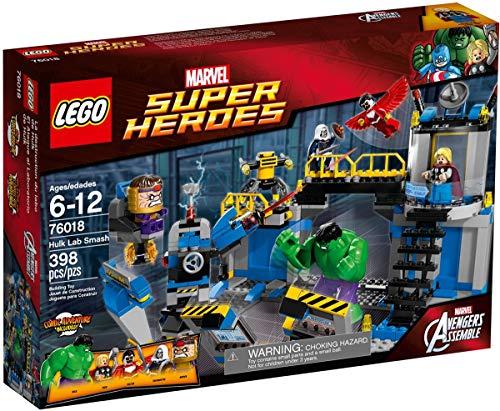 LEGO Super Heroes - El Ataque al Laboratorio de Hulk, Juego de construcción (76018)