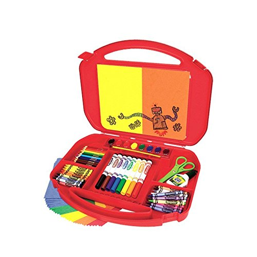 Crayola Ultimate Art Case With Easel, 85 Pieces, Gift For Kids