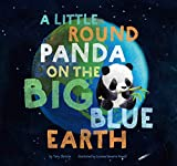 A A Little Round Panda on the Big Blue Earth