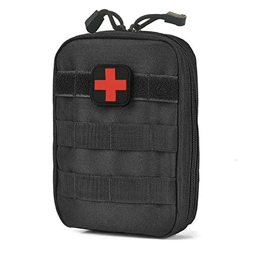 Carlrbben Tactique Molle Rip-Away EMT Medical First Aid Ifak Utility Pouch (Sac Uniquement), Noir
