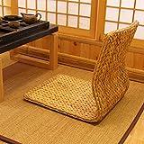 QT&YY Stroh-Bay Fenster Stuhl,Japanische Bett Computer einzelne Tatami Stuhl erker stuhlsitz-D