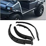 ECOTRIC Golf Cart Standard Fender Flares Front & Rear for 1993+ Club Car DS Model (Set of 4!!)