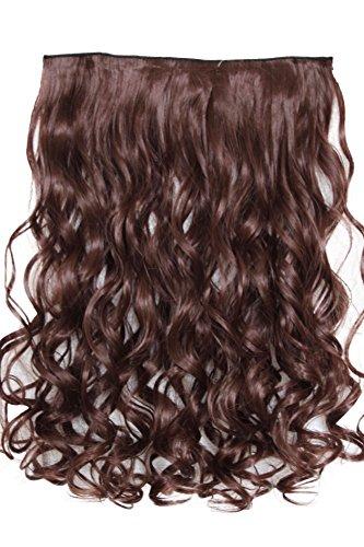 PRETTYSHOP 70 cm clip extensions Weave Hair Extensions