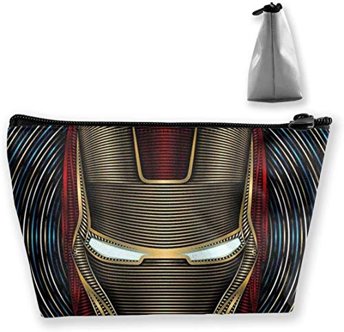 Bolsa de maquillaje Bolsa de cosméticos Guerra Civil Iron Man Bolsa de...