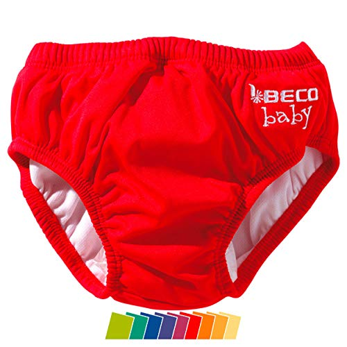 Beco Unisex-Baby Aqua-Windel Slipform mit Gummibündchen, Schwimmhilfe, Rot (Red/5), XS (2-3 Monate)