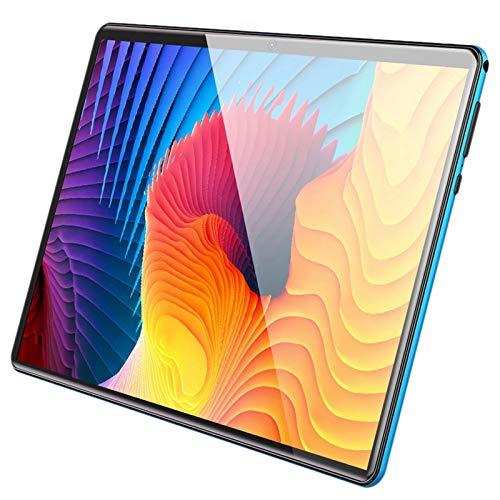 Kuinayouyi Tablet PC, teléfono móvil de 10 pulgadas sistema Android 8-Core 2+32GB 4G llamada, para hogar/oficina, azul (enchufe británico)