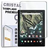 REY Protector de Pantalla para Google Pixel C 10.2', Cristal Vidrio Templado Premium, Táblet