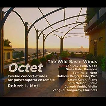 Octet: Twelve Concert Etudes for Polytemporal Ensemble