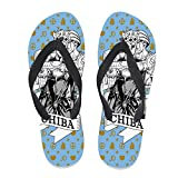 7REND Custom Flip Flops JoJo s Bizzare Adventure Stone Ocean Josuke Higashikata Sandals Beach Slippers for Women Men Daily Indoor Outdoor Activities Black