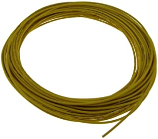 28AWG Copper Tinned Standard Hook Up Wire UL Style 1007/1569 - Yellow - 15FT