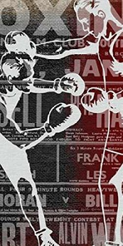 The Poster Corp Walter Robertson – Boxer Panel 1 Kunstdruck (60,96 x 121,92 cm)