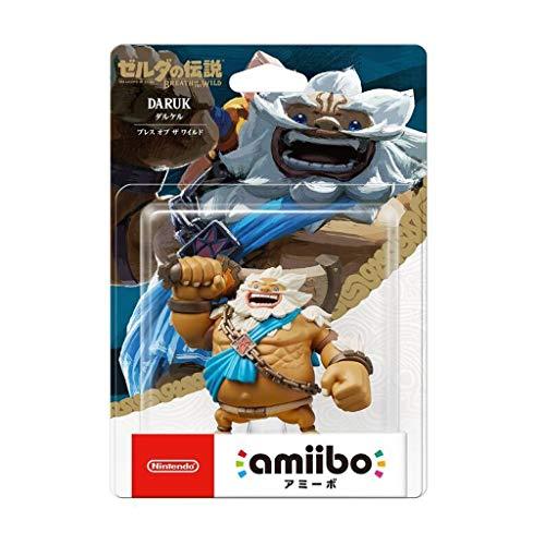 Luckly77 La Leyenda de Zelda Amiibo - Daruk (Breath de la Wild) Colección Exquisita Figura, Multicolor Paisaje de la decoración Adornos