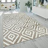 alfombra fina beige