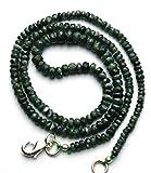 LOVEKUSH BEADS GEMSTONE 1 Strand Natural Alexandrite Chrysoberyl Facet 3 to 6MM Rondelle Bead Necklace 17 Inch Long Long Code-RR-11385