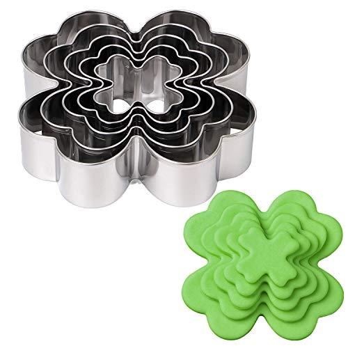 4 leaf clover cookie cutter - 9
