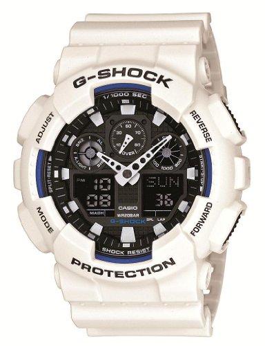 『[カシオ] 腕時計 ジーショック GA-100B-7AJF ホワイト』のトップ画像
