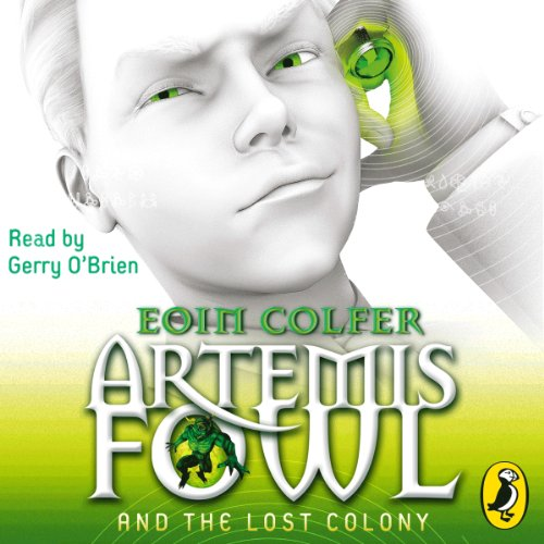 Artemis Fowl and the Lost Colony audiobook cover art