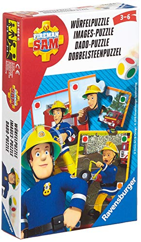 Ravensburger Mitbringspiele 23464 - Feuerwehrmann Sam Würfelpuzzle