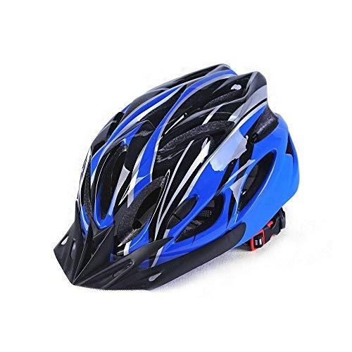 Protectora para Hombre Adulto Camino Ciclismo Casco de MTB Mountain Bike/Bicicletas/Ciclo Azul...