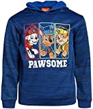 Nickelodeon Boys Paw Patrol Fleece Pullover Character Hoodie (Toddler/Little Kid) (Dark Blue, 2T)'