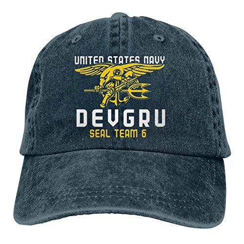 Delta Force-Seal Team 6-Navy Seal-Us Navy3 Unisex Adult Cap Adjustable Cowboys Hats Baseball Cap