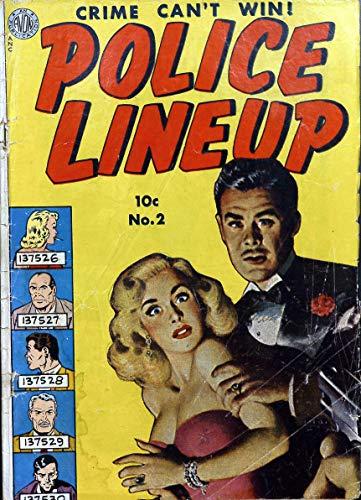 Police Lineup 002 -JVJ (English Edition)