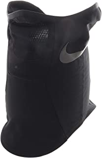 Nike Strike Snood Athletic Fleece Neck Warmer, Black/White