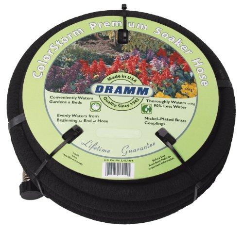 Dramm 17010 ColorStorm Premium 50 Foot Soaker Garden Hose
