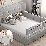 Cubre Cama Barrera cama infantil, Nido Bebe Jane Protector de Bordes Para Bebé Cama Nido Bebe Ropa para cuna camas de bebé Funda Capazo Universal