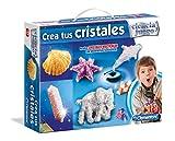 Clementoni - Maletín CREA Tus Cristales, Juego de Ciencia Educativo (550746)