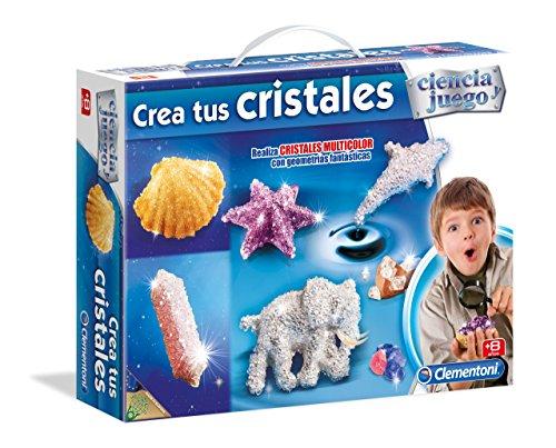 Clementoni - Maletín CREA Tus Cristales, Juego de Ciencia E