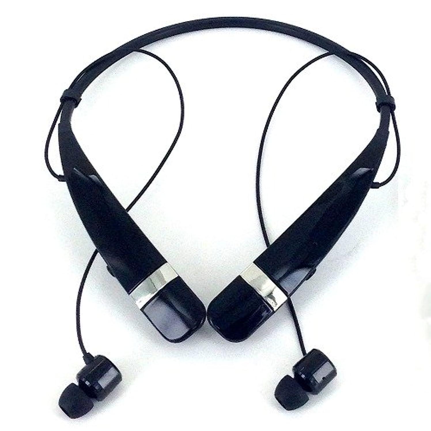 上げる分布どこLG Electronics Bluetooth ステレオヘッドセット TONE PRO ブラック  HBS-760