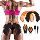 Abs Stimulator, Electronic BacksideHips Trainer, Muscle Toner,Smart Training Wearable Buttock Toner Trainer for Women